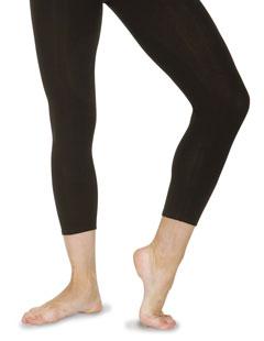 Unterschenkellange Leggings aus Baumwolle/Lycra