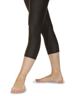 Unterschenkellange Leggings aus Nylon/Lycra