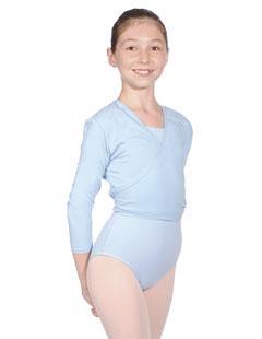 Ballettjacke aus Baumwolle/Lycra