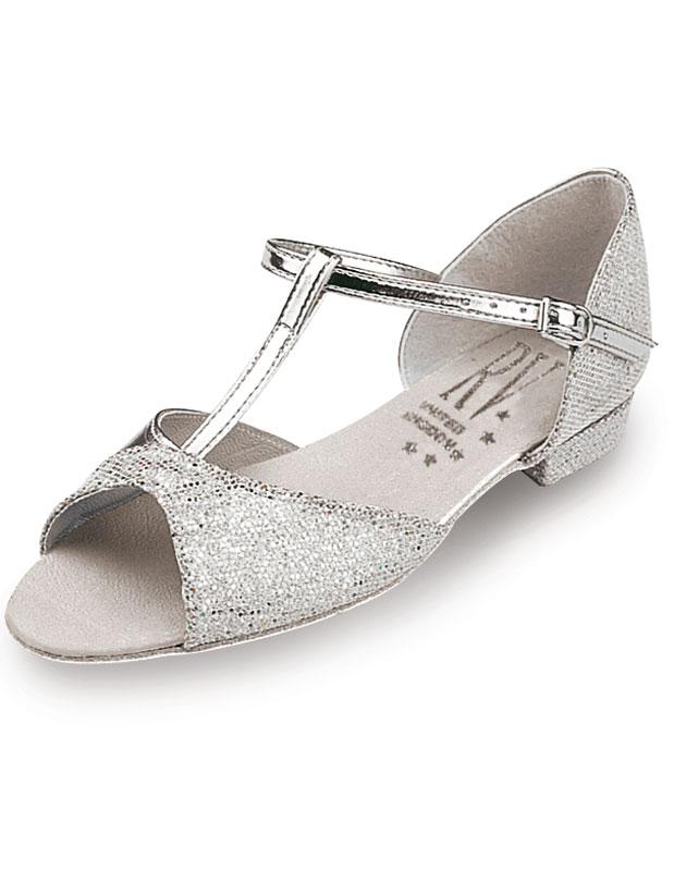 Roch Valley Marika Standard Tanzschuh für Damen Silber 6L (39.5) 74yece